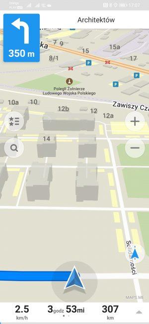 Testujemy nawigacje na Androida dostępne w Huawei AppGallery - co jeśli nie Google Maps? 50