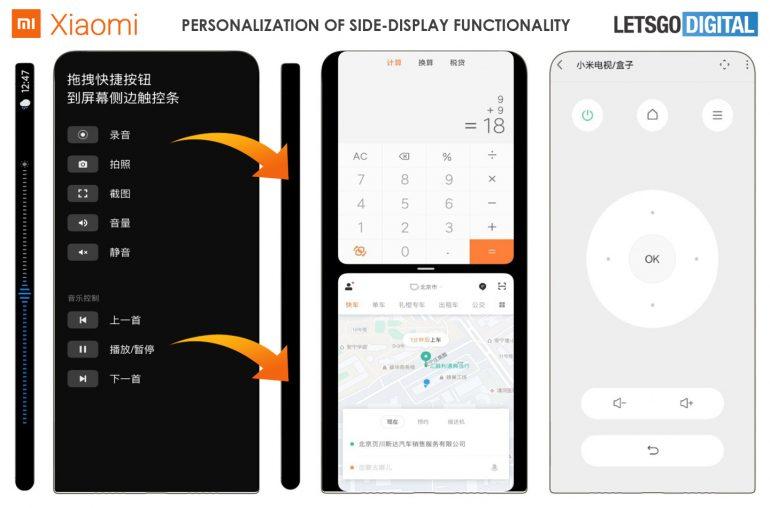 Xiaomi patentuje MIUI dla smartfonów z ekranami pokrywającymi całą obudowę 19