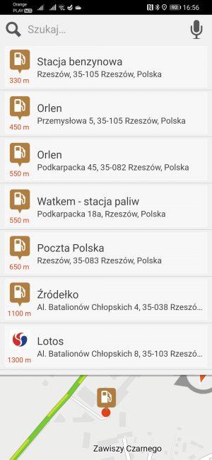 Testujemy nawigacje na Androida dostępne w Huawei AppGallery - co jeśli nie Google Maps? 38