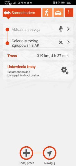Testujemy nawigacje na Androida dostępne w Huawei AppGallery - co jeśli nie Google Maps? 40