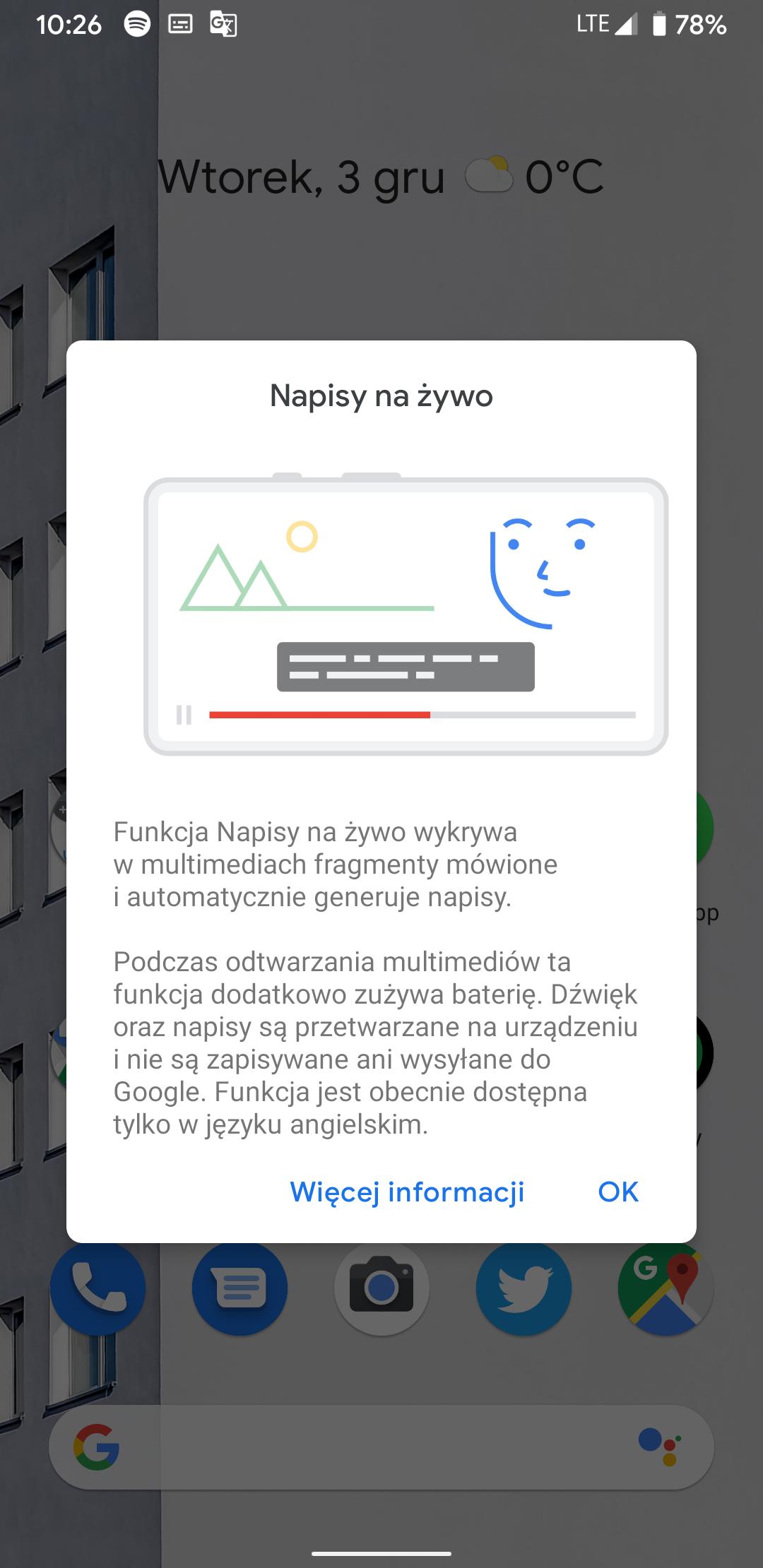 """Smartfony Google Pixel z aktualizacją wprowadzającą style interfejsu oraz """"Napisy na żywo"""" 28"""