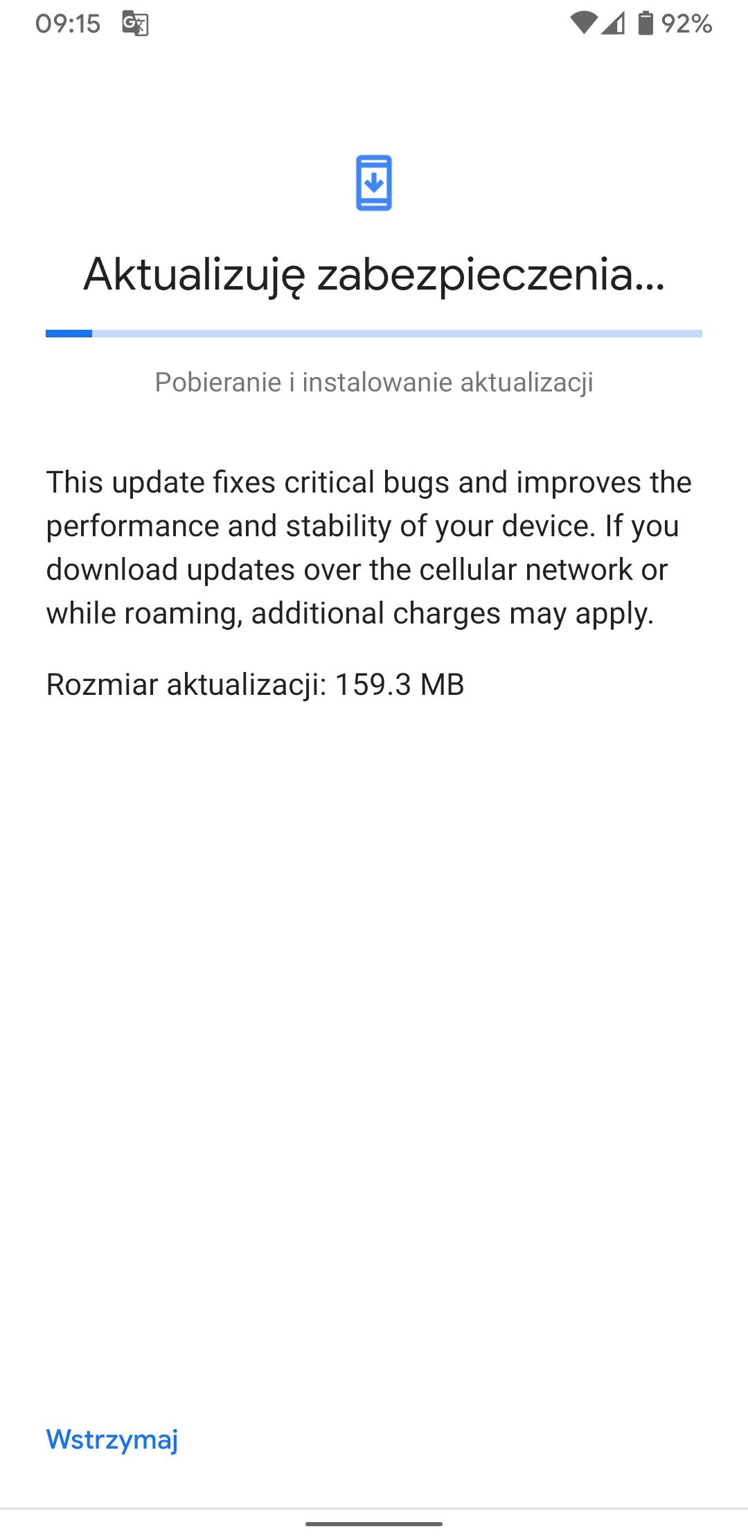 """Smartfony Google Pixel z aktualizacją wprowadzającą style interfejsu oraz """"Napisy na żywo"""" 19"""