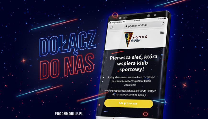 Klub piłkarski Pogoń Szczecin wraz z Next Mobile stworzyli nową sieć komórkową