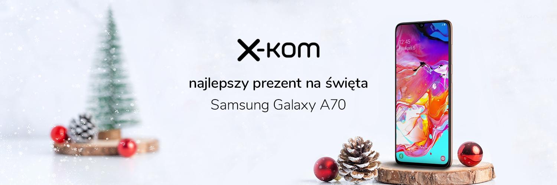 Promocja na Samsunga Galaxy A70 w x-kom - mamy kod rabatowy dla Czytelników Tabletowo!