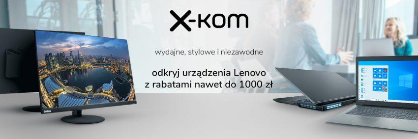 promocja Tydzień Lenovo x-kom