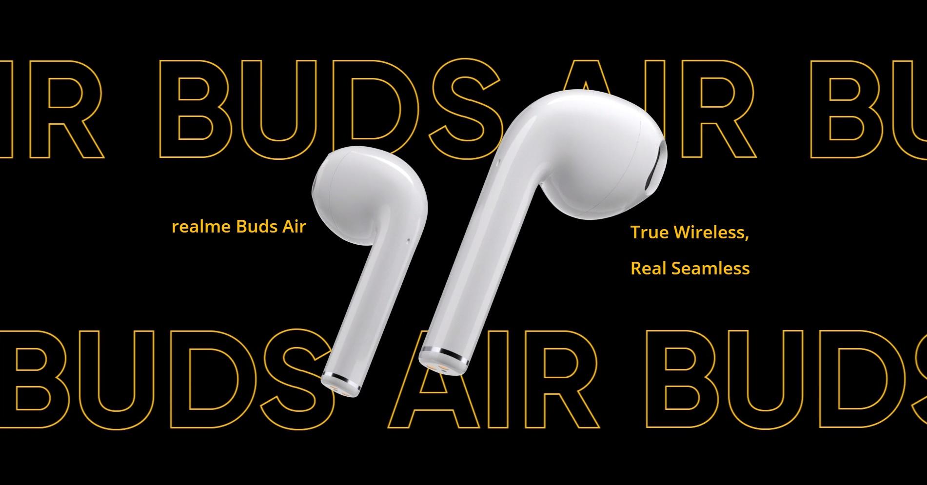 słuchawki bezprzewodowe realme Buds Air
