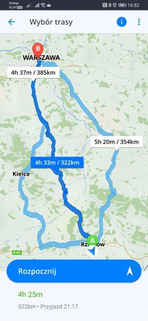 Testujemy nawigacje na Androida dostępne w Huawei AppGallery - co jeśli nie Google Maps? 33