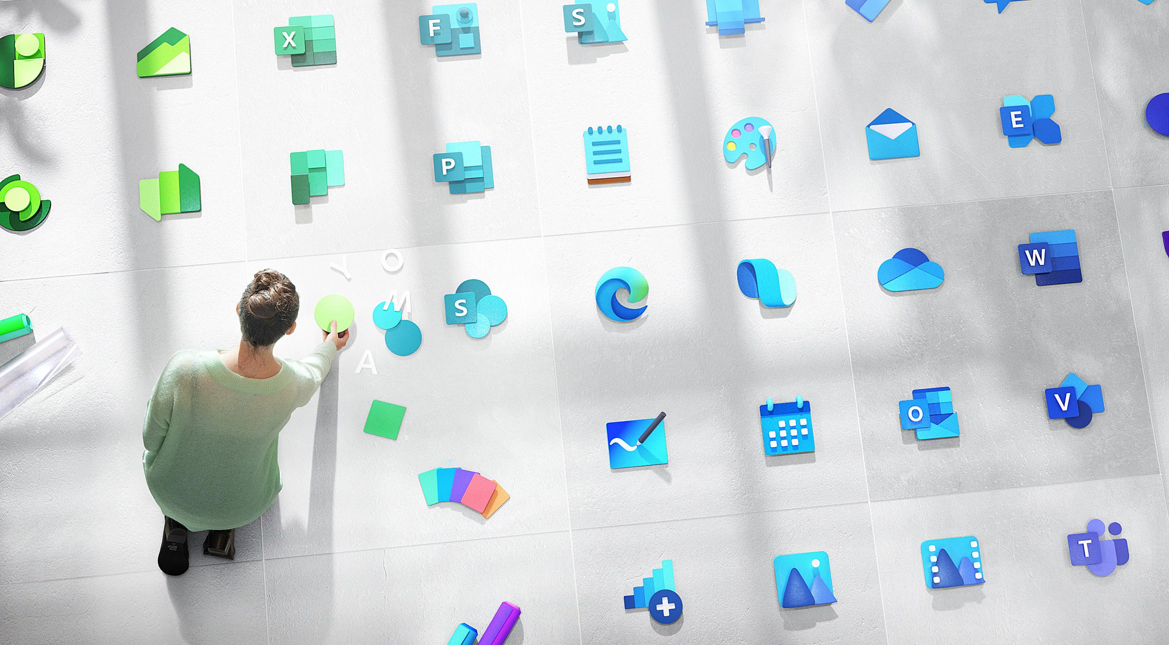 Windows 10 zaczyna dostawać nowe kolorowe ikony. Ktoś jest testerem?