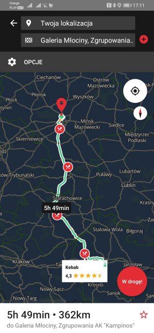 Testujemy nawigacje na Androida dostępne w Huawei AppGallery - co jeśli nie Google Maps? 56