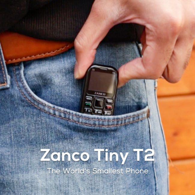 Ten malutki telefon ma rozmiar pendrive'a, ale potrafi działać przez 7 dni