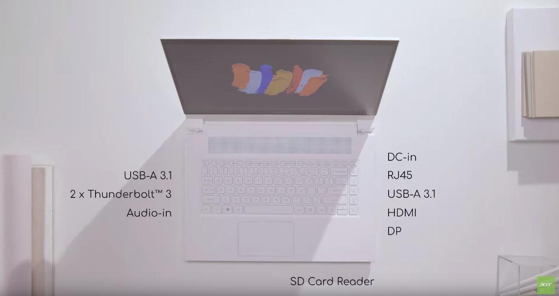 Acer ConceptD 7 Ezel Pro to odjechany laptop konwertowalny dla twórców