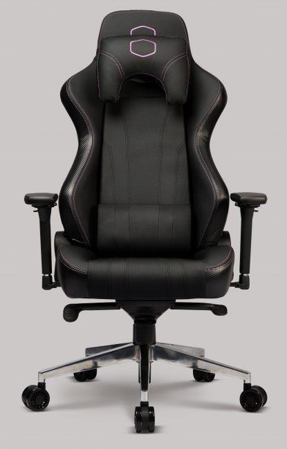 Cooler Master zadbał, żeby goście CES 2020 mieli na czym usiąść - oto fotele z linii Caliber i Ergo L