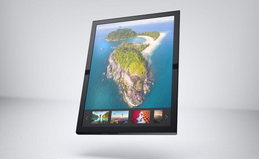 Komputer z elastycznym ekranem? Dell tak widzi przyszłość składanych urządzeń