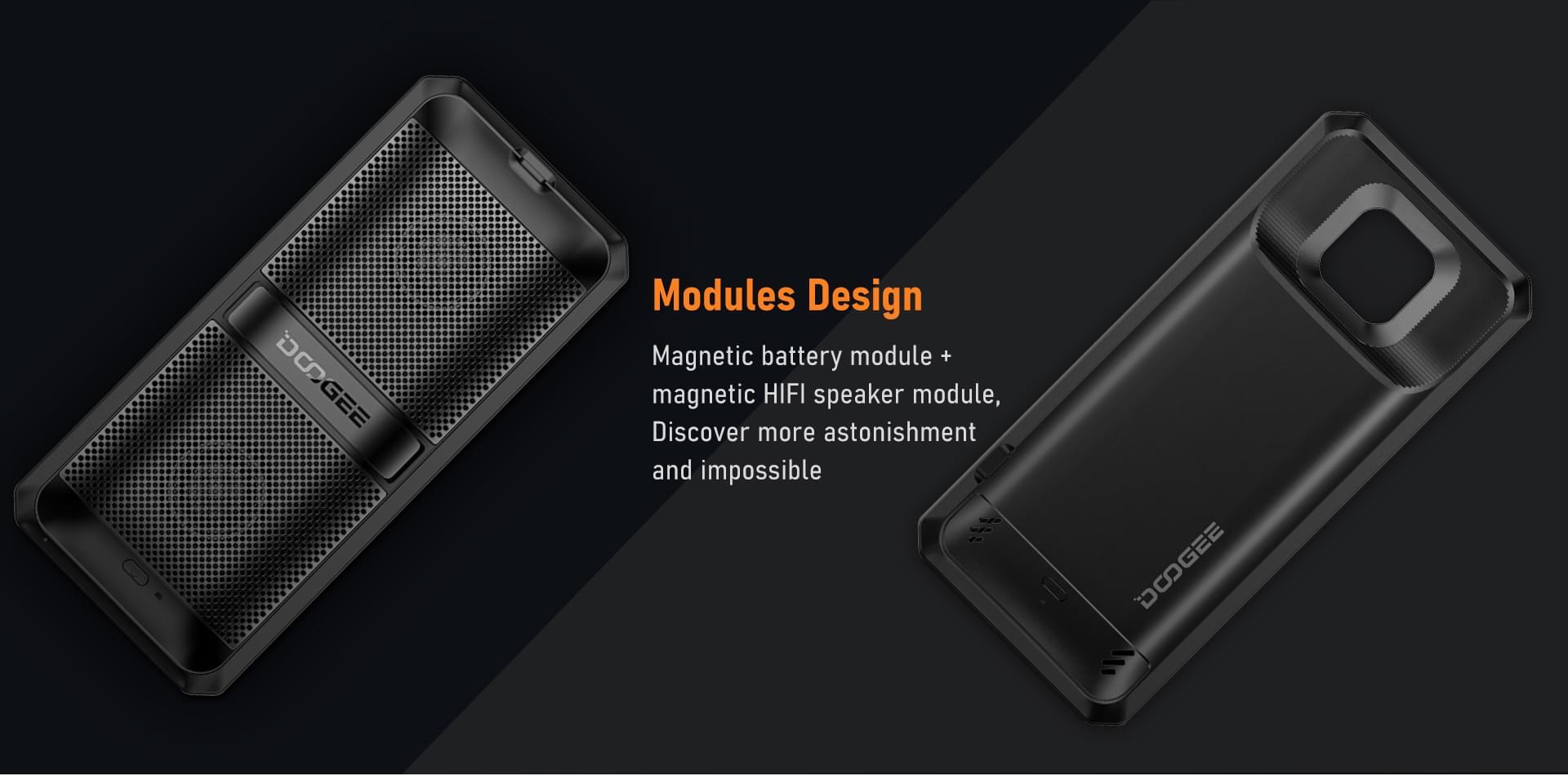 Doogee S95 Pro speaker battery
