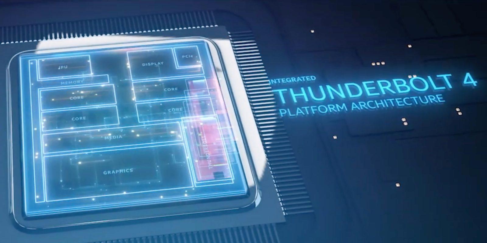 Intel zadziwia. Thunderbolt 4 nie jest szybszy od Thunderbolt 3 20