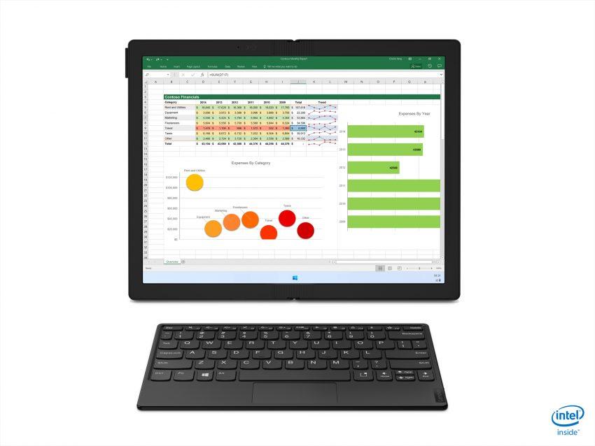 Składany Lenovo ThinkPad X1 Fold, czyli jak z laptopa zrobić tablet. To już nie prototyp!