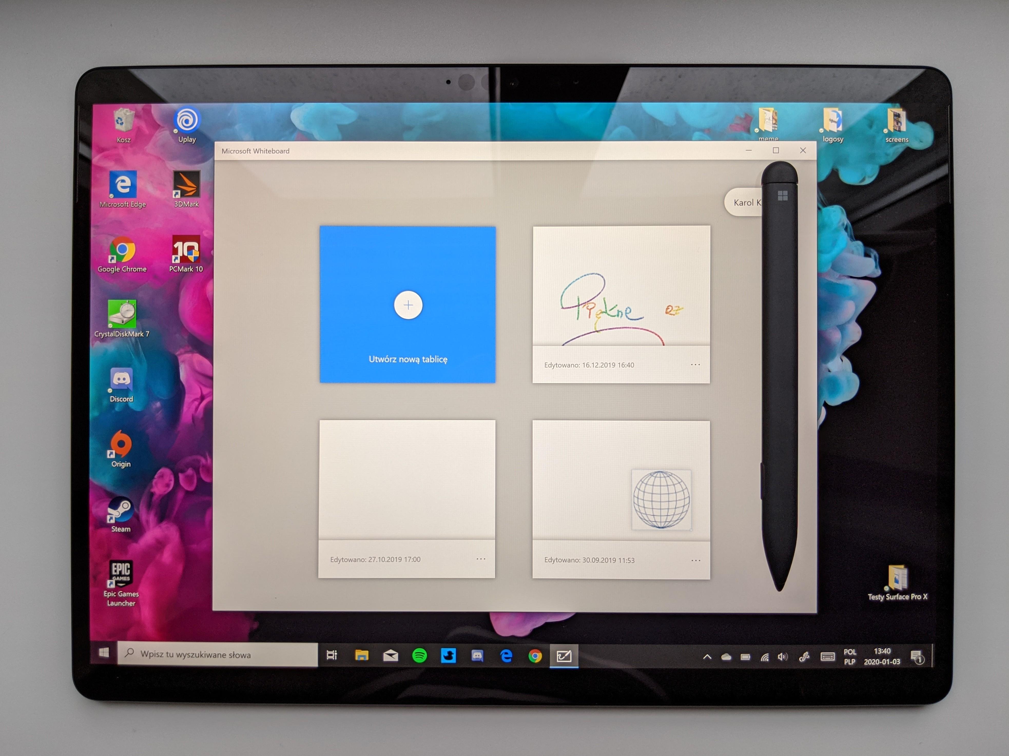 Piękność po przeszczepie serca. Recenzja Microsoft Surface Pro X