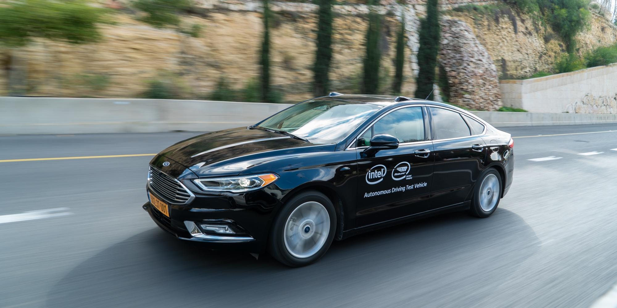 Intel pochwalił się samochodem autonomicznym. Wystarczą mu tylko kamery