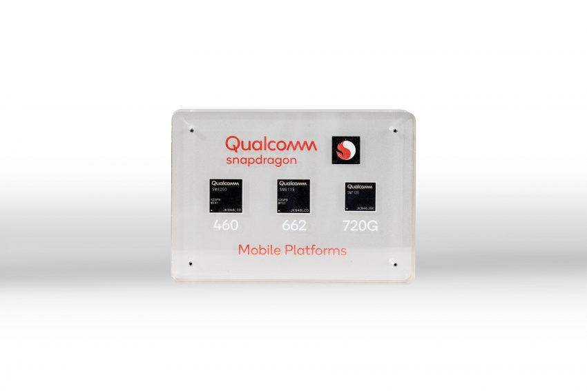 Qualcomm Snapdragon 460 Snapdragon 662 Snapdragon 720G