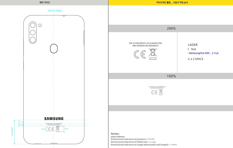 smartfon Samsung Galaxy A11 SM-A115F