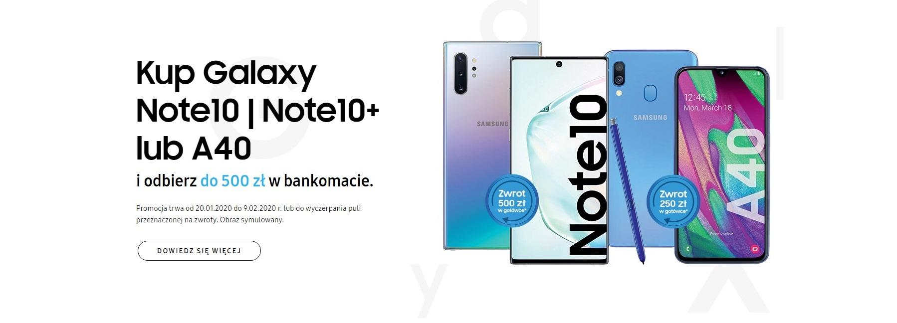 Promocja: Samsung odda Ci nawet 500 złotych, jeśli kupisz jego smartfon 18