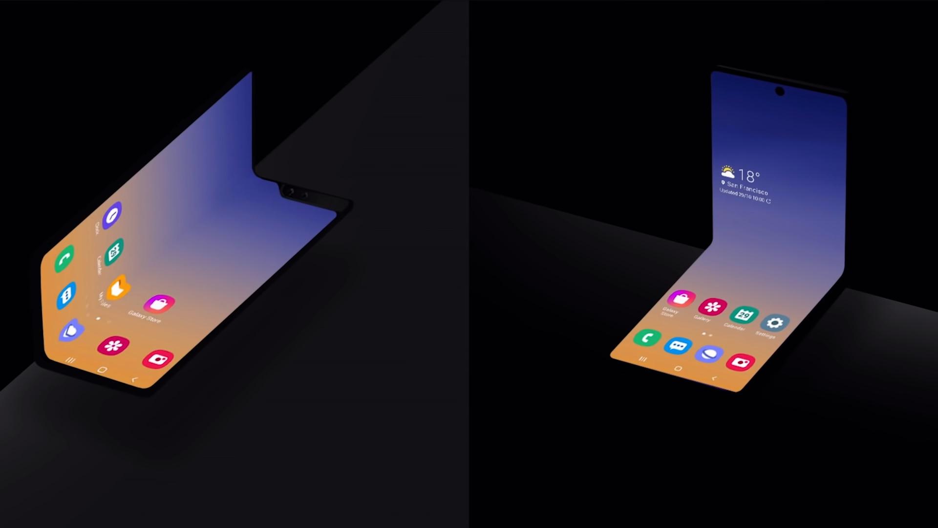 składany smartfon Samsung Galaxy Fold Galaxy Z Flip
