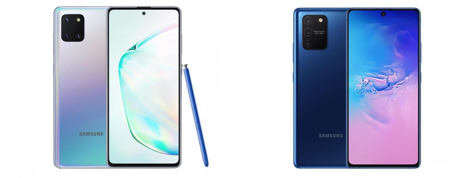 Samsung Galaxy Note 10 Lite N770F Galaxy S10 Lite G770F