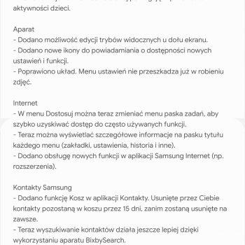 Samsung Galaxy Note 9 dostaje aktualizację do Androida 10 w Polsce!