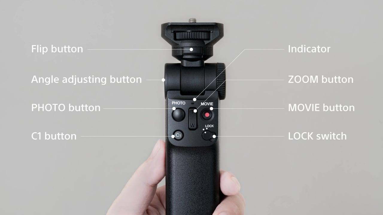 Sony opracowało własny uchwyt do bezlusterkowców. Nie trzeba go podłączać do aparatu kablem 21