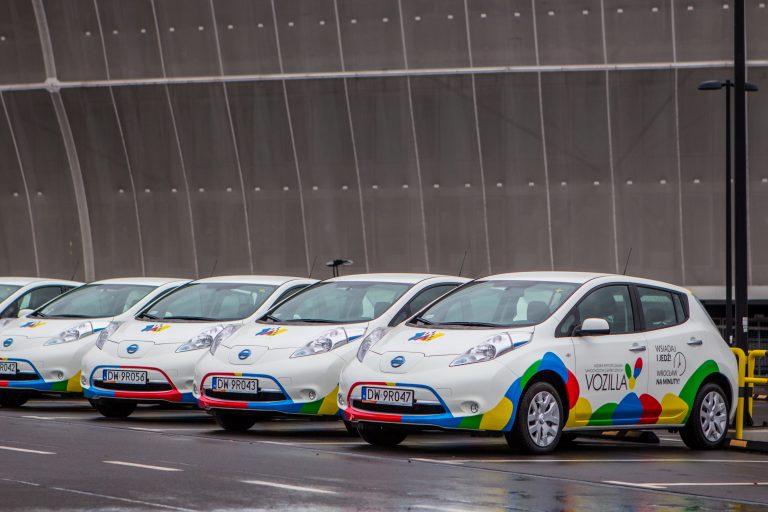 Wrocław bez wypożyczalni samochodów elektrycznych - Vozilla przestaje istnieć