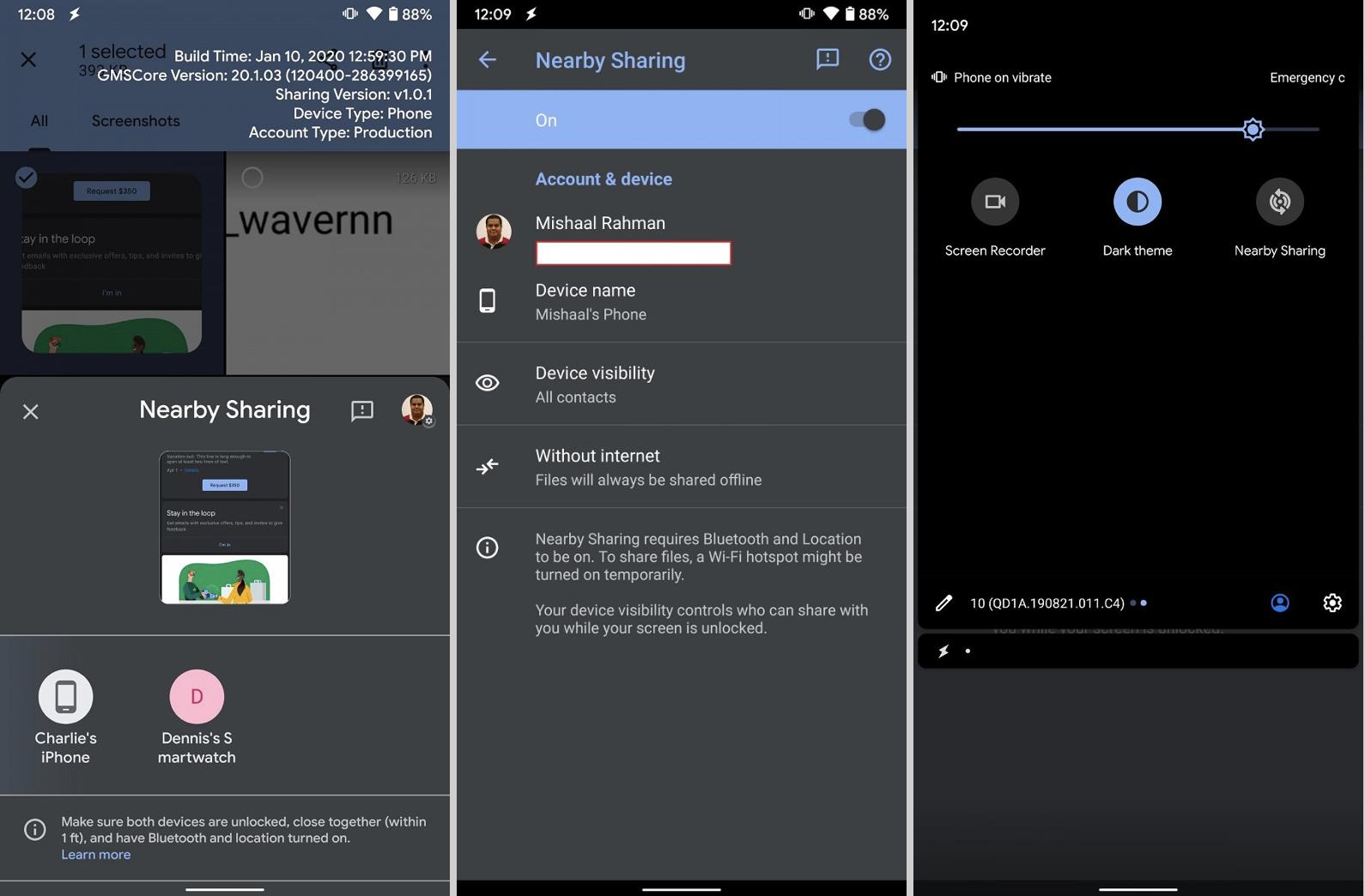 """""""AirDrop"""" w smartfonach z Androidem coraz bliżej. Nadchodzi Nearby Sharing"""