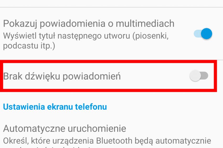 Android Auto wreszcie pozwala wyciszyć powiadomienia