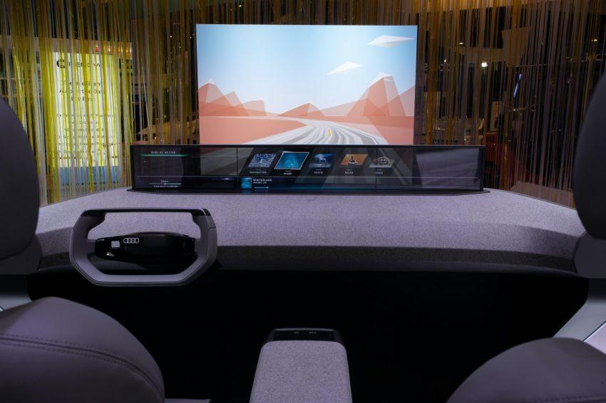 Audi na CES: inteligentne samochody i wyświetlacz head-up w 3D 20