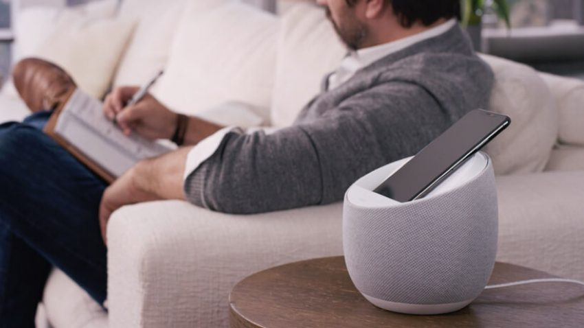 Belkin Soundform Elite - głośnik z Asystentem Google i ładowarką indukcyjną 21