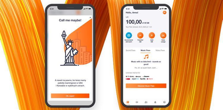 Nowości w Orange Flex - rozsądniejsze pakiety danych w USA i aplikacja po angielsku
