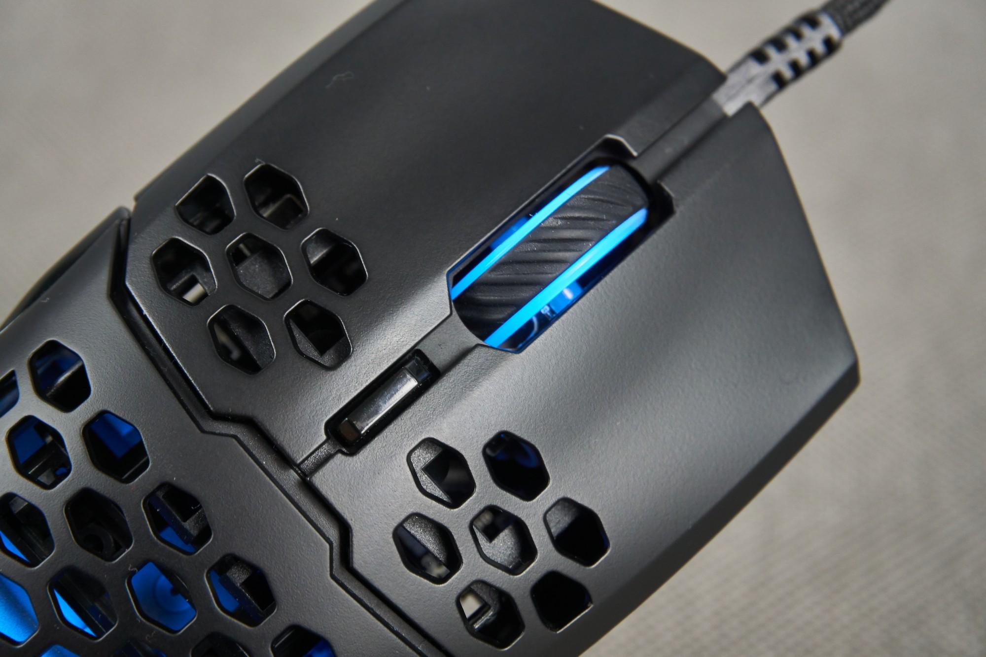 Recenzja Cooler Master MM711 - jeszcze mniej, jeszcze lżej