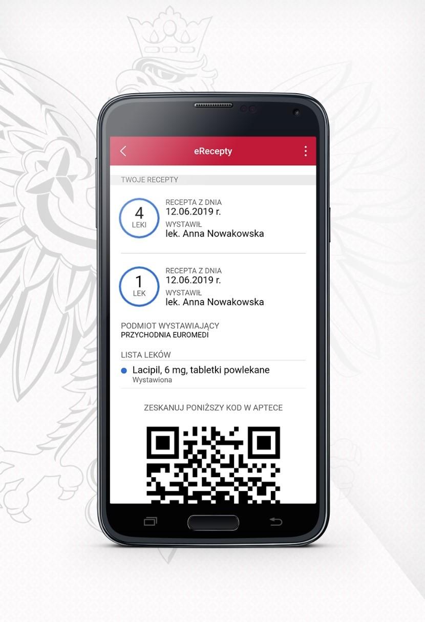 E-recepty są już widoczne w aplikacji mObywatel
