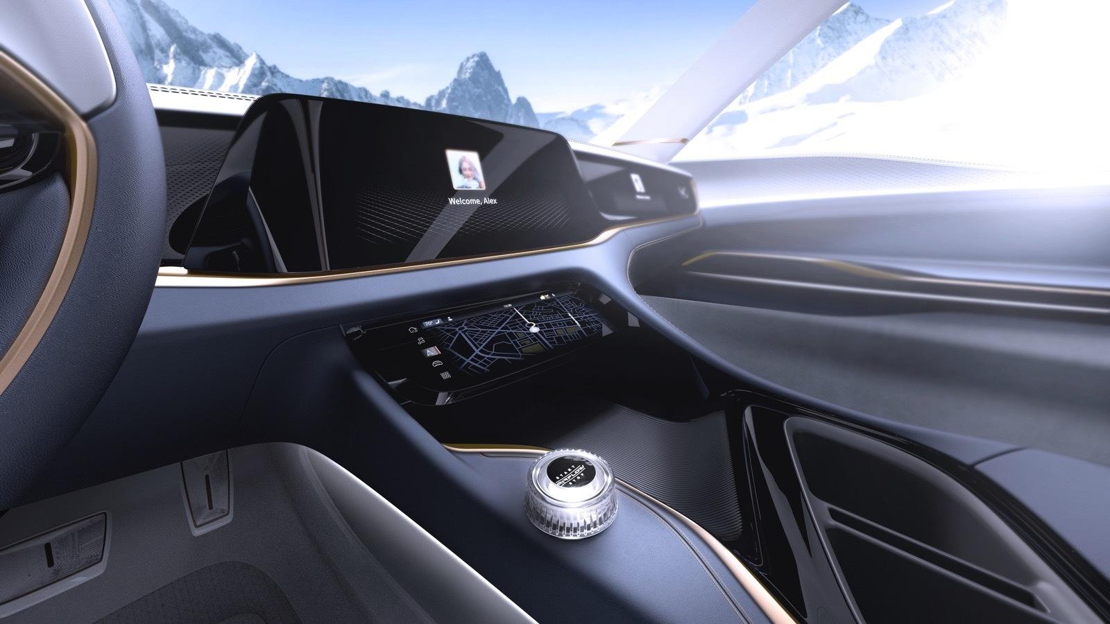 Airflow Vision – wizja pięknego i przesadnie skomputeryzowanego samochodu