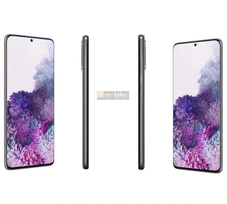 Mamy oficjalne grafiki wszystkich Samsungów z serii Galaxy S20 oraz ich ceny w euro