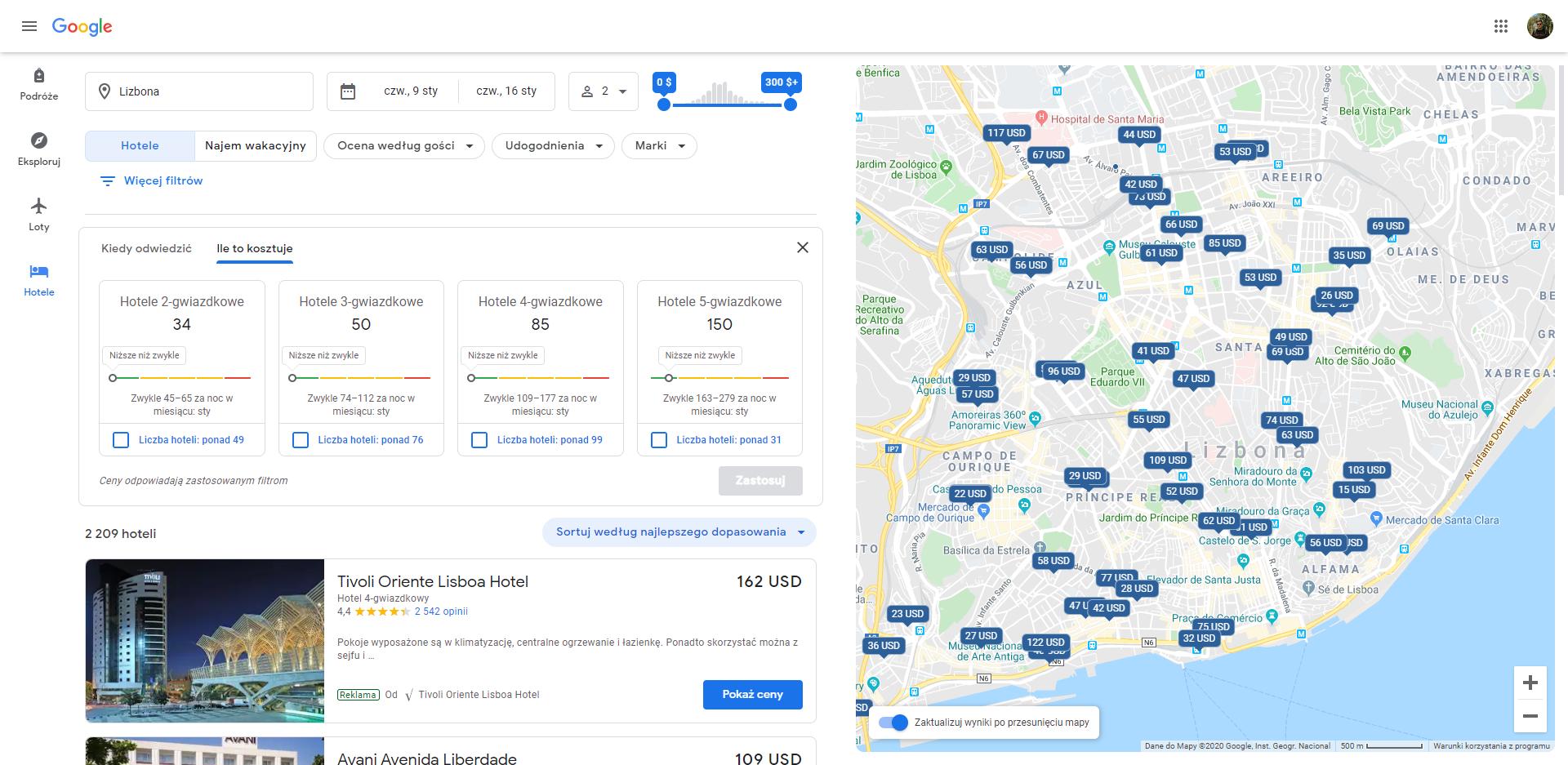 Google Podróże otrzymały sporą aktualizację. Planowanie wycieczek ma być teraz jeszcze prostsze 19