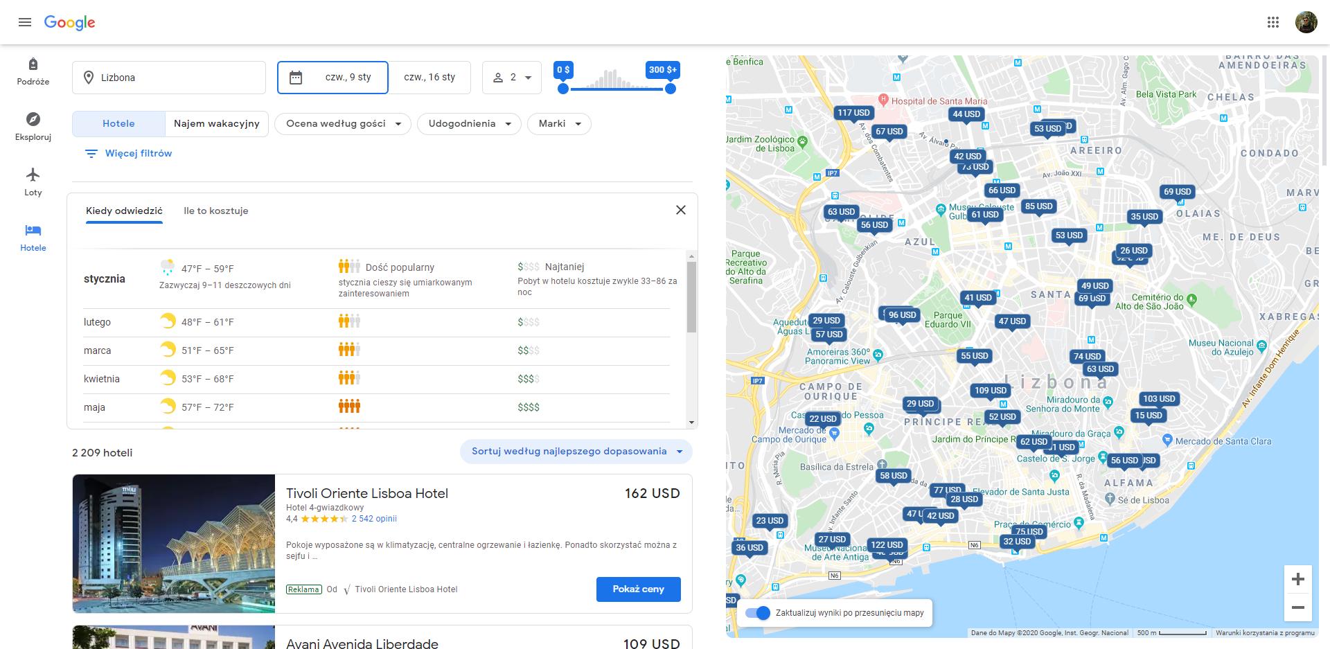 Google Podróże otrzymały sporą aktualizację. Planowanie wycieczek ma być teraz jeszcze prostsze 18
