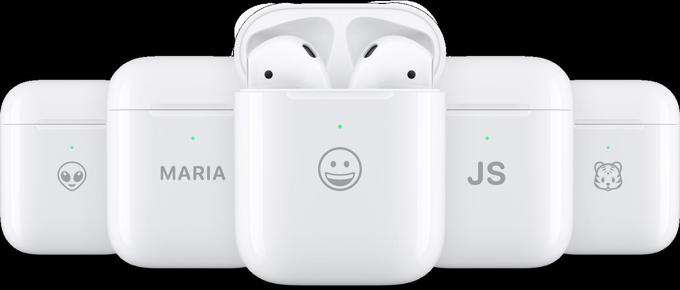 Na etui od AirPods wygrawerujesz już nie tylko tekst, ale i emoji 19