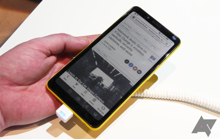 Kolorowe wyświetlacze E-ink nie uratują baterii w naszych smartfonach, ale już tu są