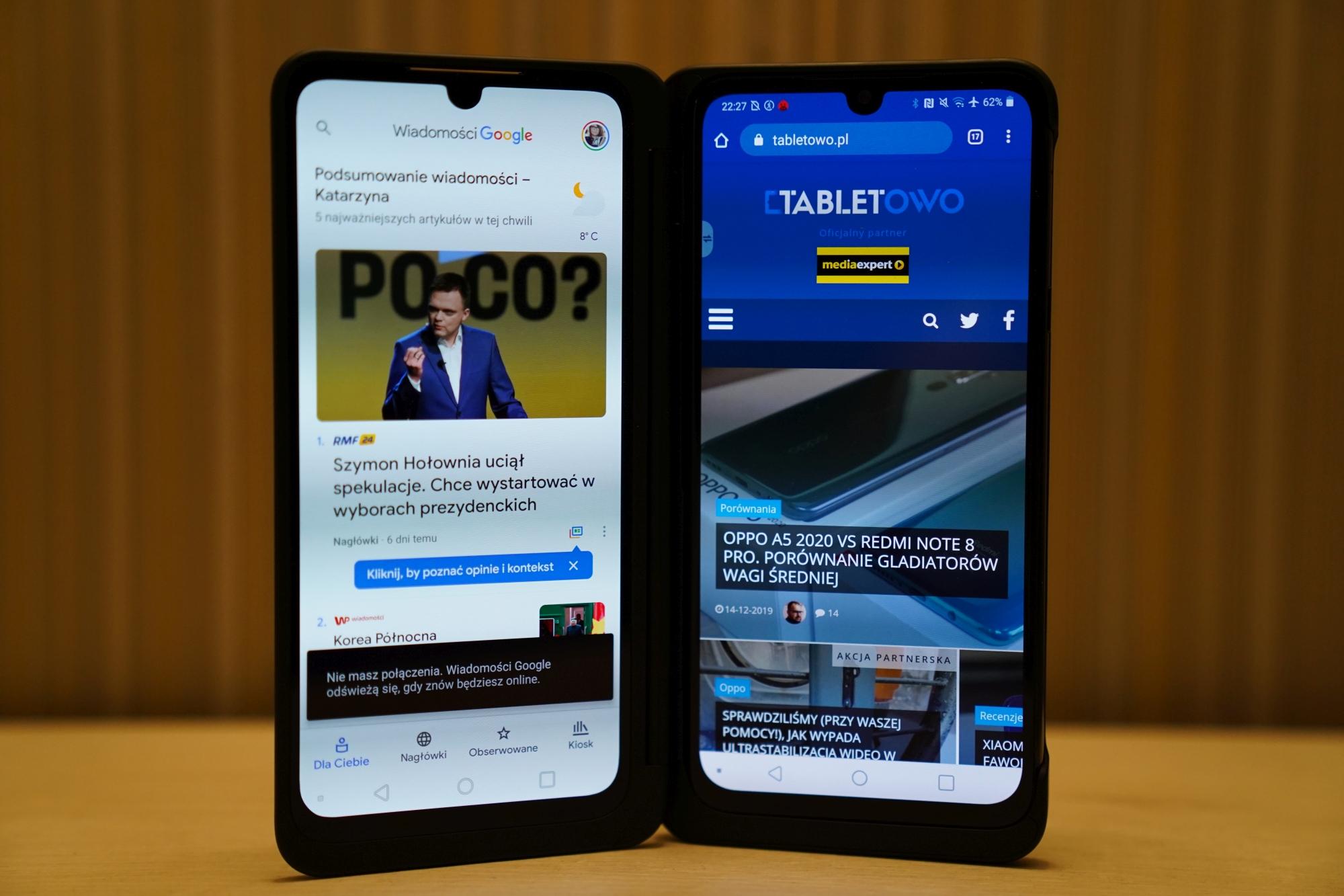 smartfon LG G8x ThinQ LG Dual Screen