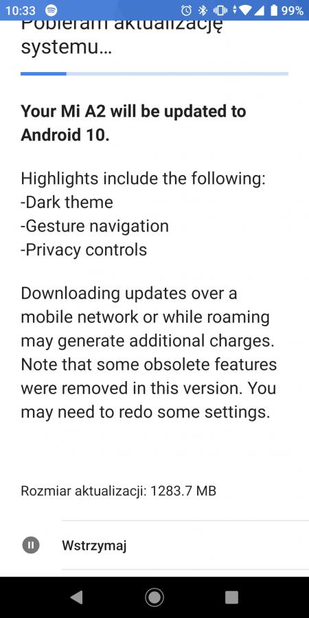 Android 10 tylko dla flagowców? Nie, o ile kupiłeś Xiaomi Mi A2 20