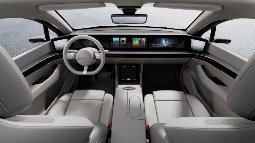 Sony Vision-S - koncept elektrycznego samochodu od twórców PlayStation