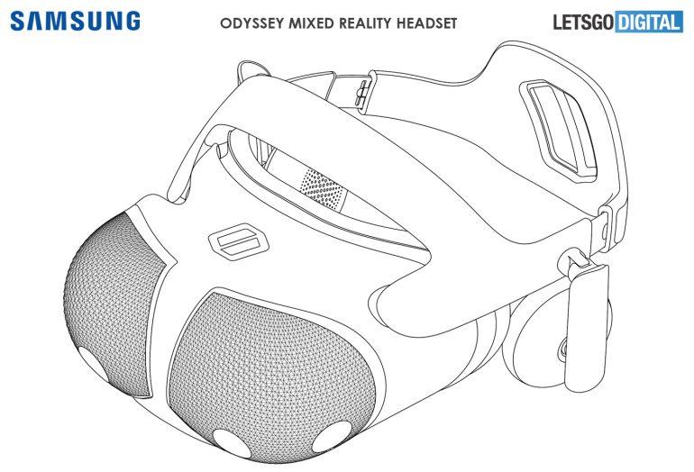 Projekt gogli VR od Samsunga przyprawia o ciarki na plecach. Wyglądają kosmicznie