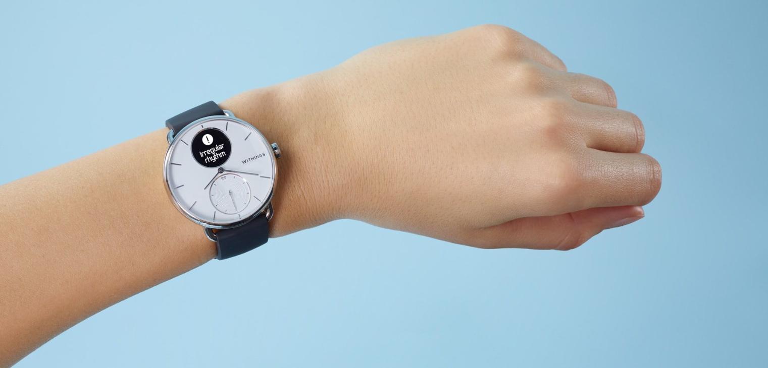 Zadebiutował Withings ScanWatch - hybrydowy smartwatch z EKG i pulsoksymetrem