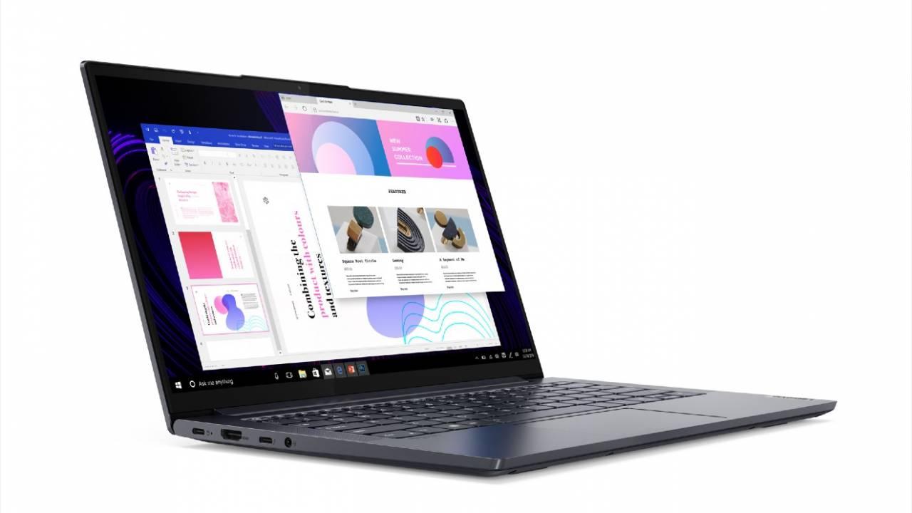 Yoga nabiera koloru. Oto laptop Lenovo Yoga Slim 7 17