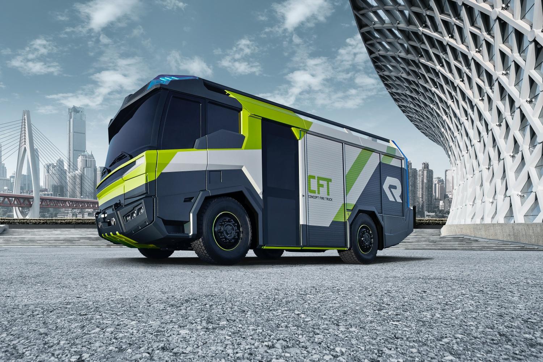 Elektryczny może być nawet wóz strażacki. I nie, to nie jest